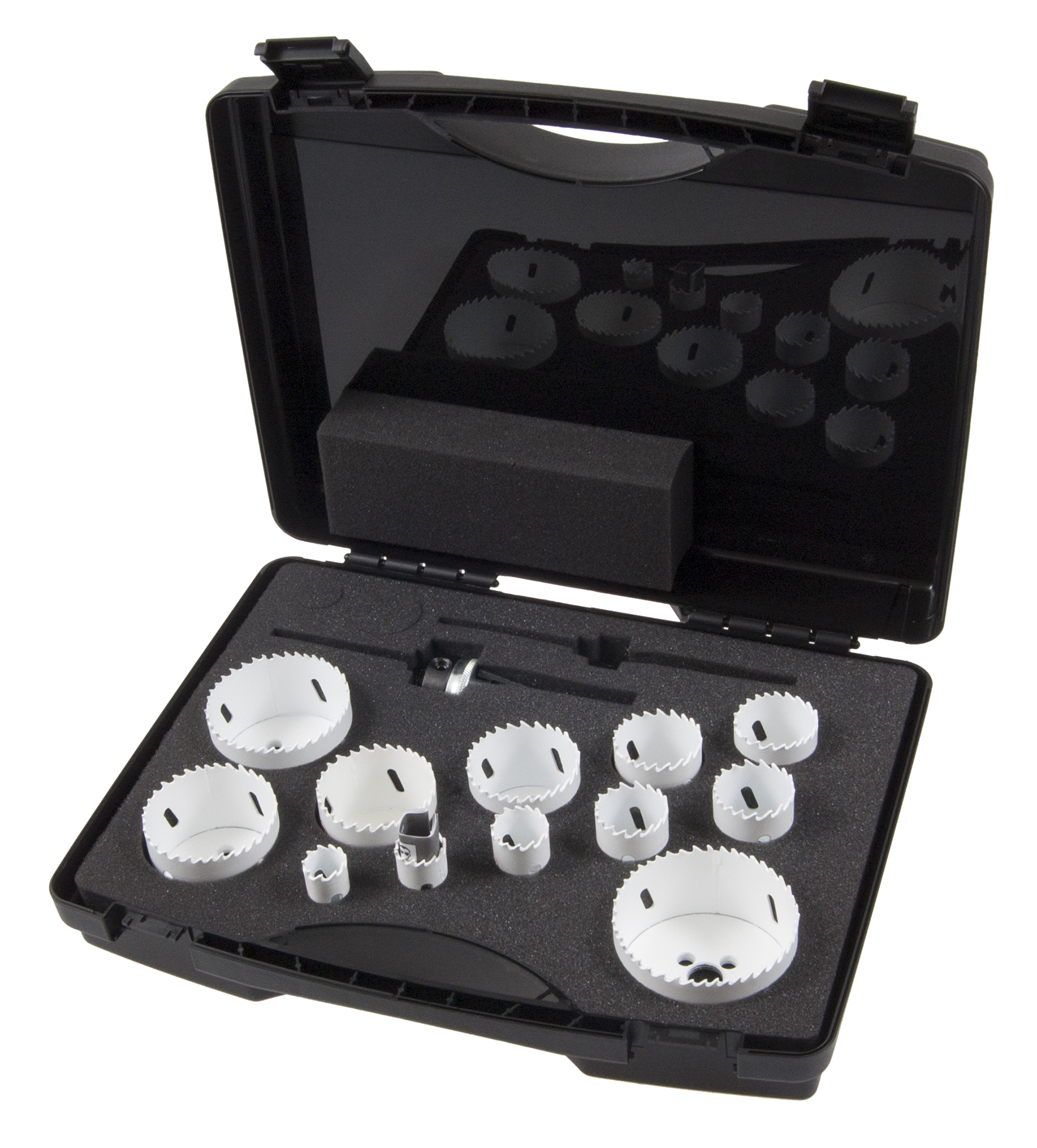 453 Coffret de 20 scies trépans Bi-Métal HSS-Co 8%